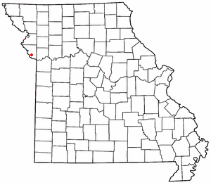 Waldron, Missouri unincorporated community in Missouri