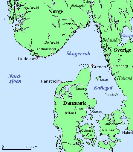 Image result for Hanstholm map