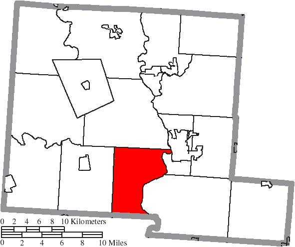 File Map Of Pickaway County Ohio Highlighting Wayne Township Png