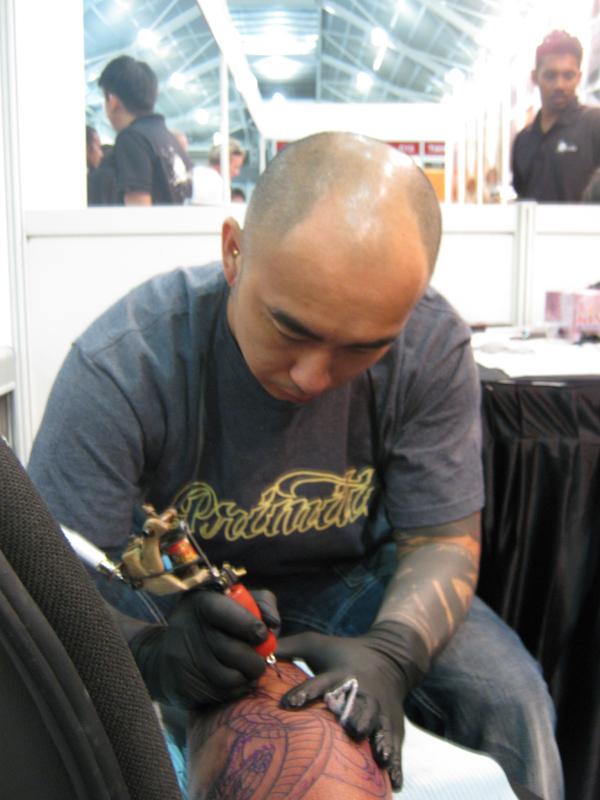 File:Marc-Pinto-Singapore-tattoo-show-2010.jpg - Wikimedia Commons
