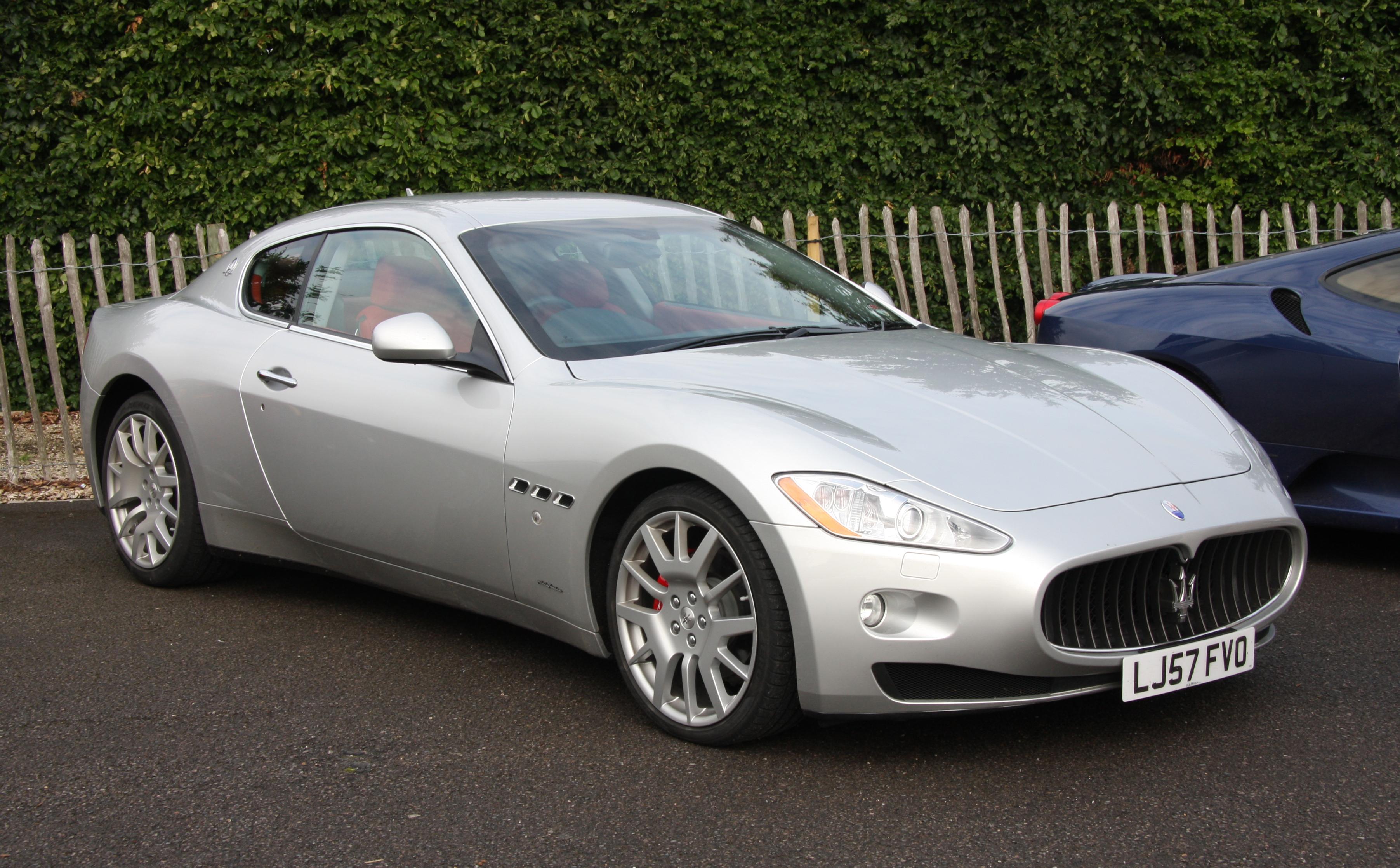Maserati Granturismo Wikipedia