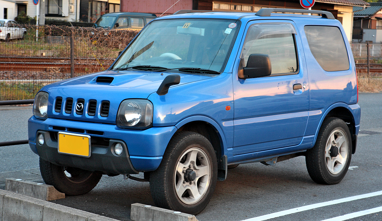 Suzuki Samurai Mud Truck