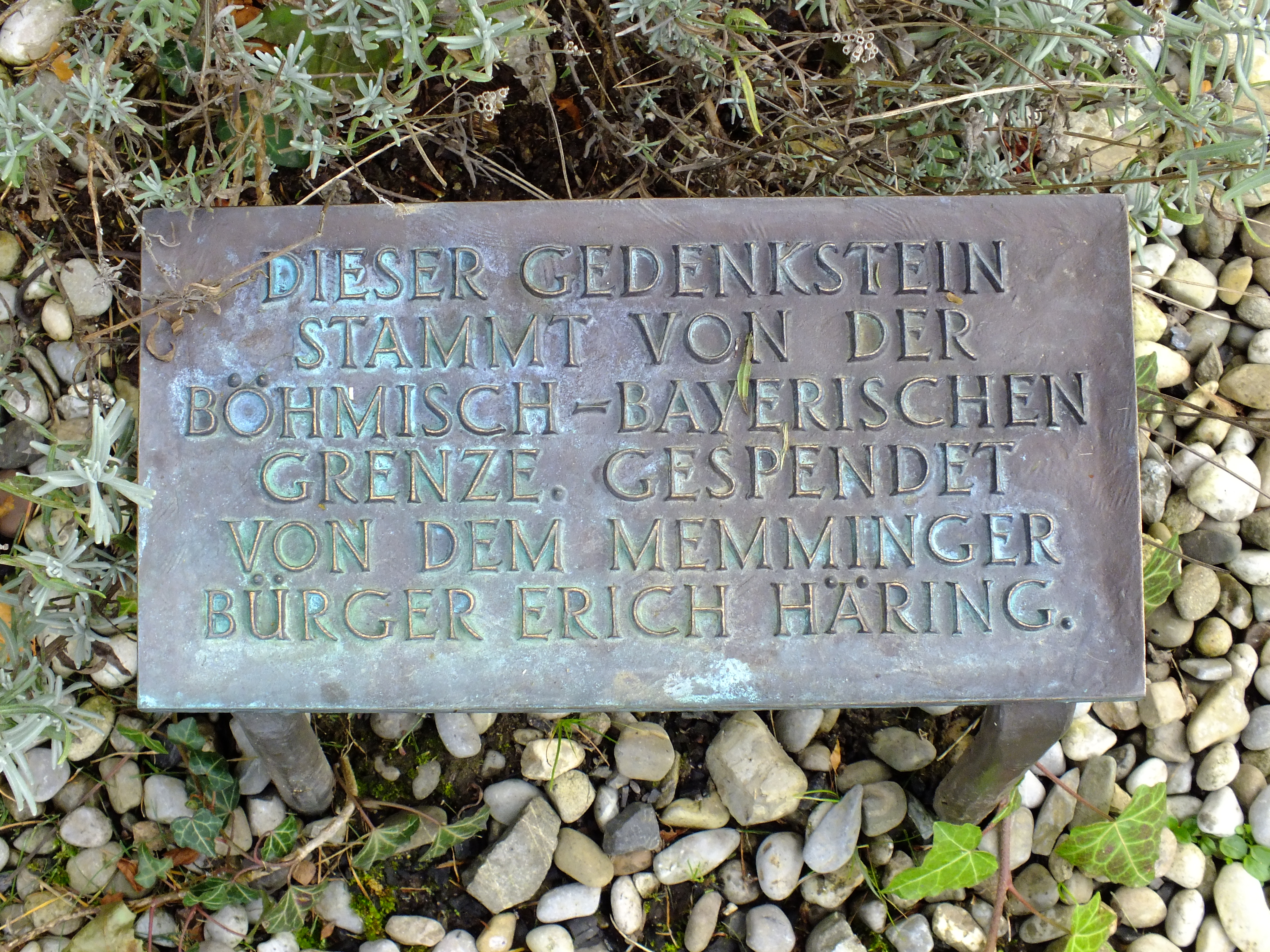 File Memmingen Vertriebenendenkmal Grimmelschanze 2 Jpg