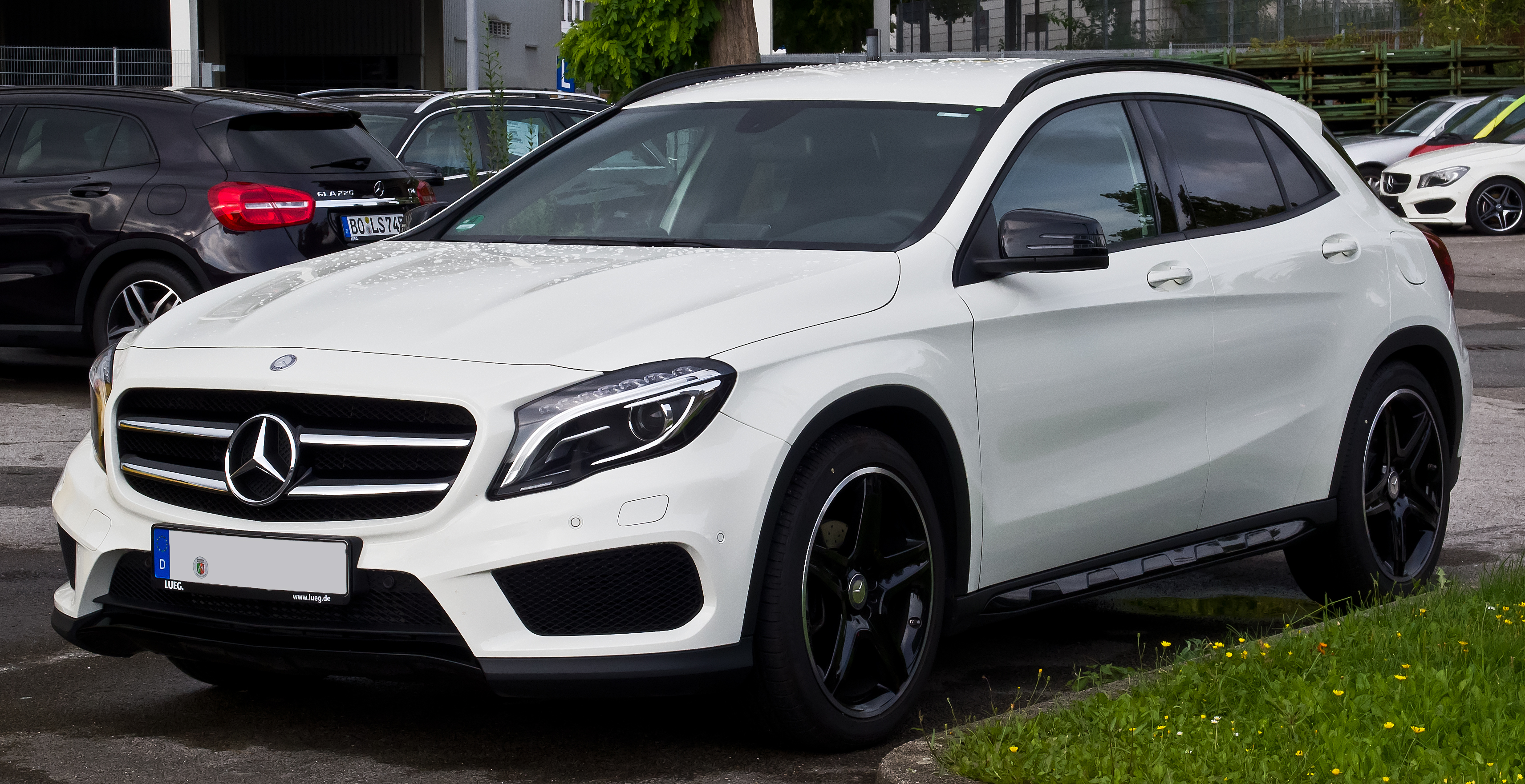 file mercedes benz gla 200 cdi amg line x 156 frontansicht 16 august 2014. Black Bedroom Furniture Sets. Home Design Ideas