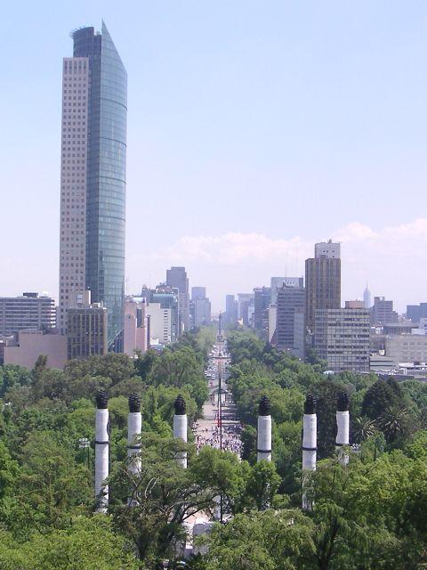 Torre Mayor, México, Distrito Federal, 230.4m Mexico.DF.Chapultepec.02