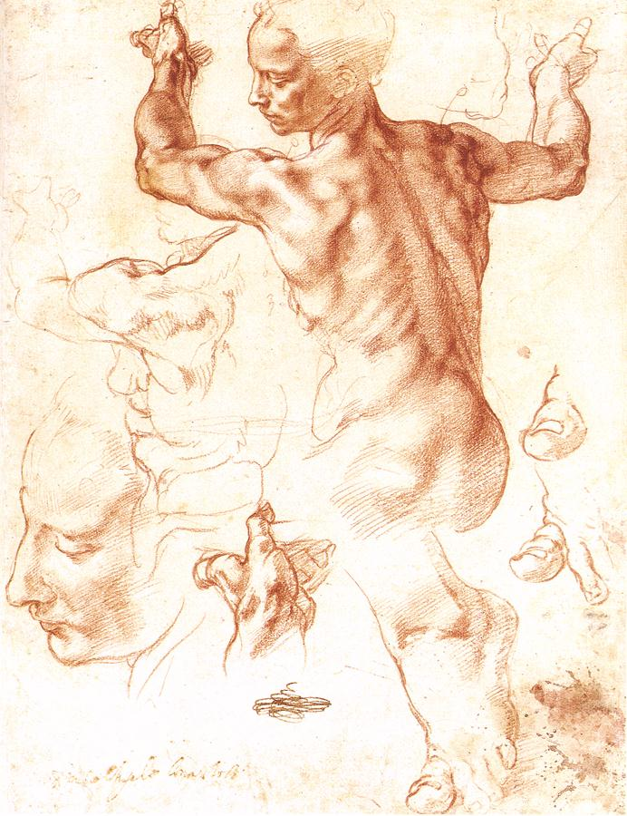 Image result for early sketches Michelangelo