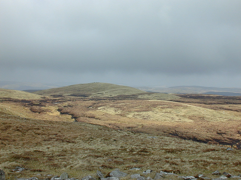 File:Moorland northeast of Llan Ddu Fawr (2) - geograph.org.uk - 658596.jpg