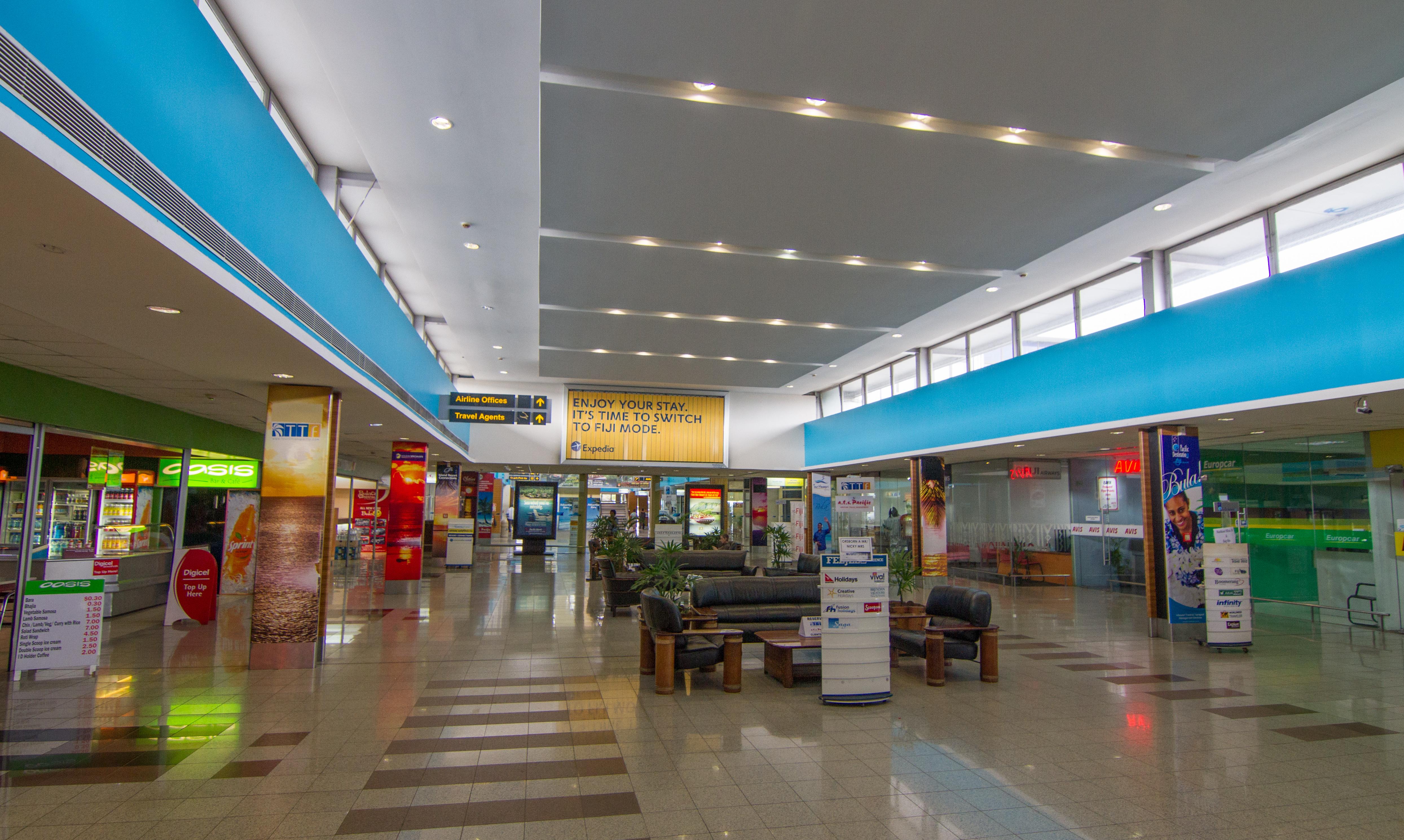 Hamilton Island Airport Arrivals