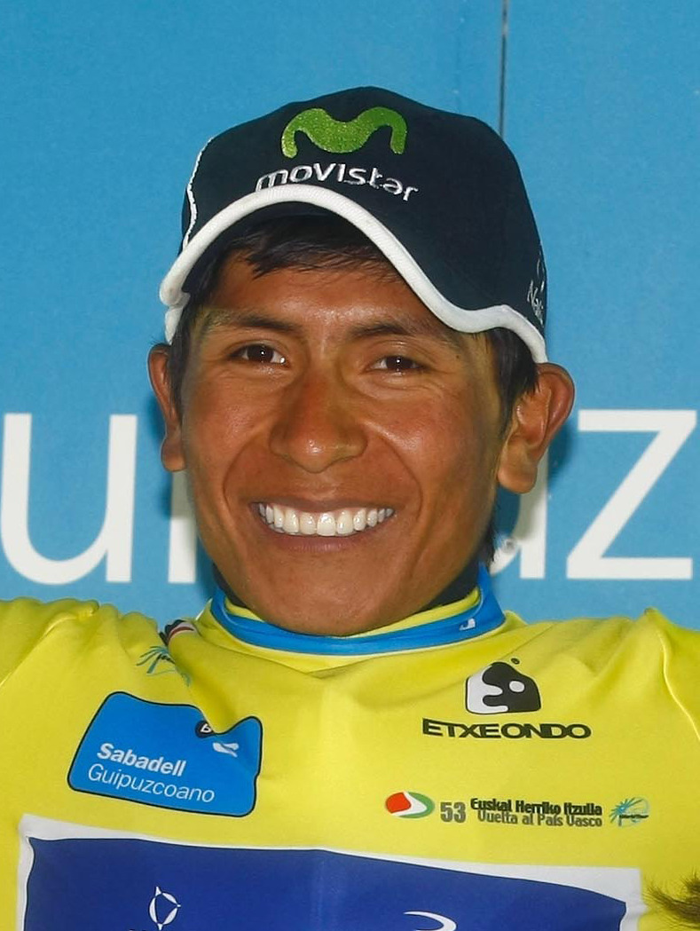 The 28-year old son of father (?) and mother(?) Nairo Quintana in 2018 photo. Nairo Quintana earned a  million dollar salary - leaving the net worth at 4 million in 2018