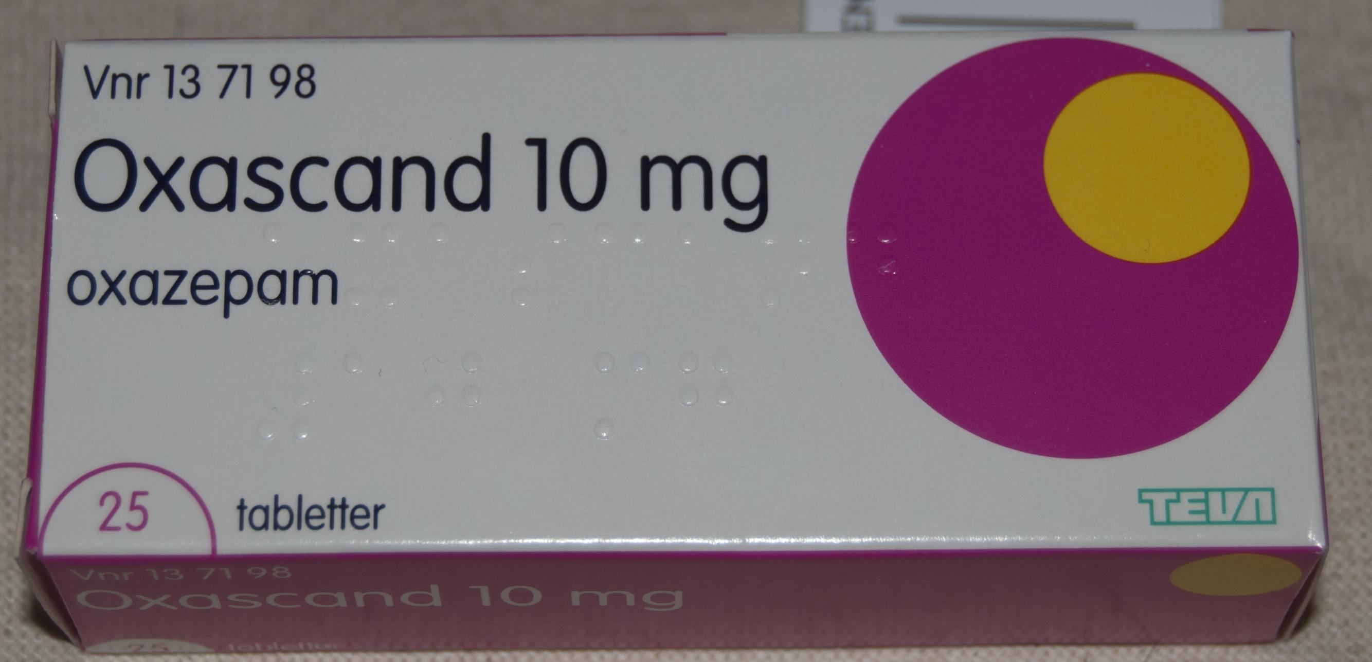 oxascand 10 mg
