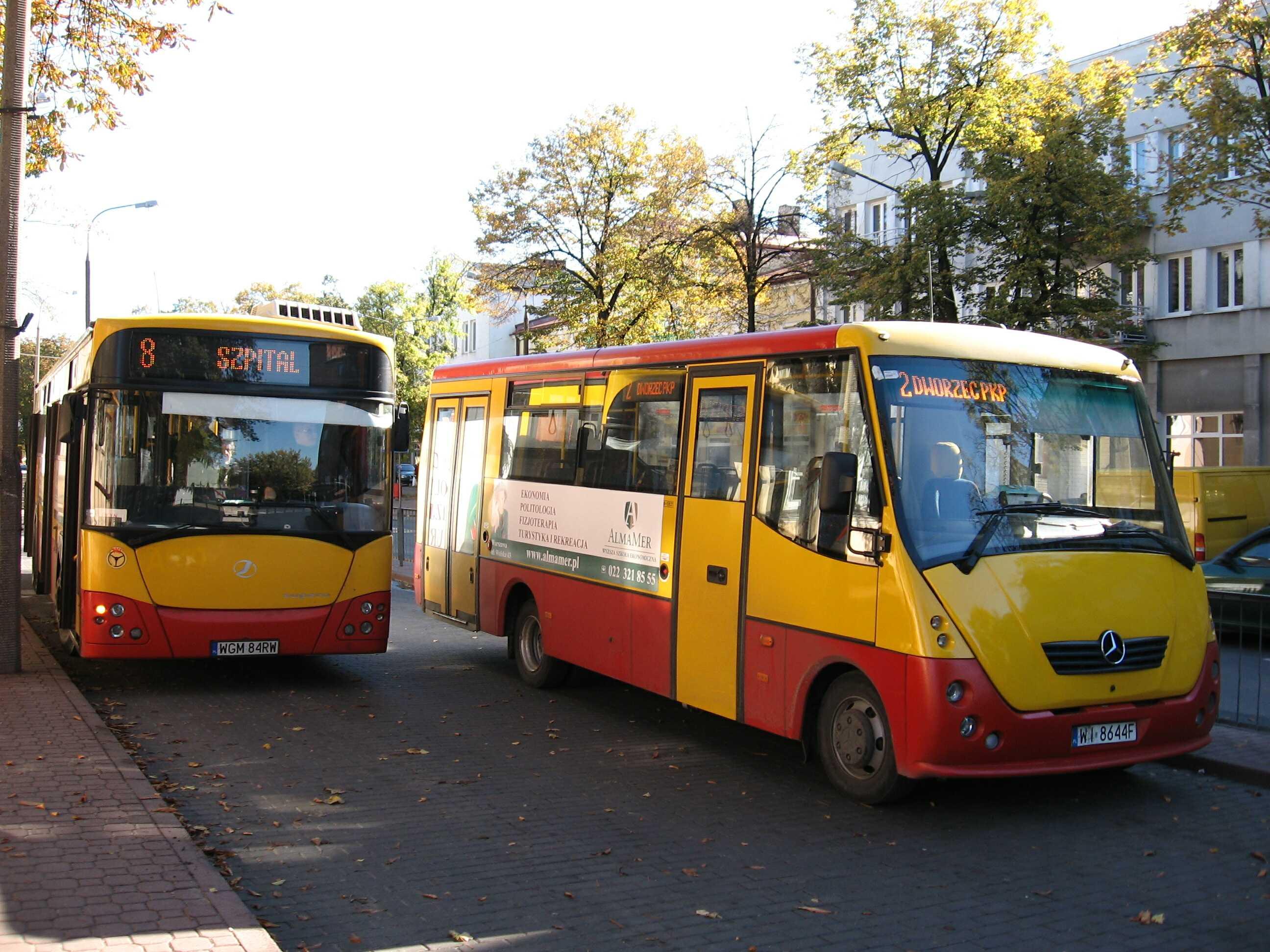 Autobusy Mercedes i Jelcz