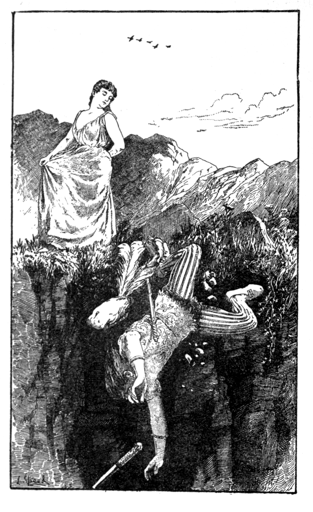 Filepage 26 illustration in the red fairy book 1890 png