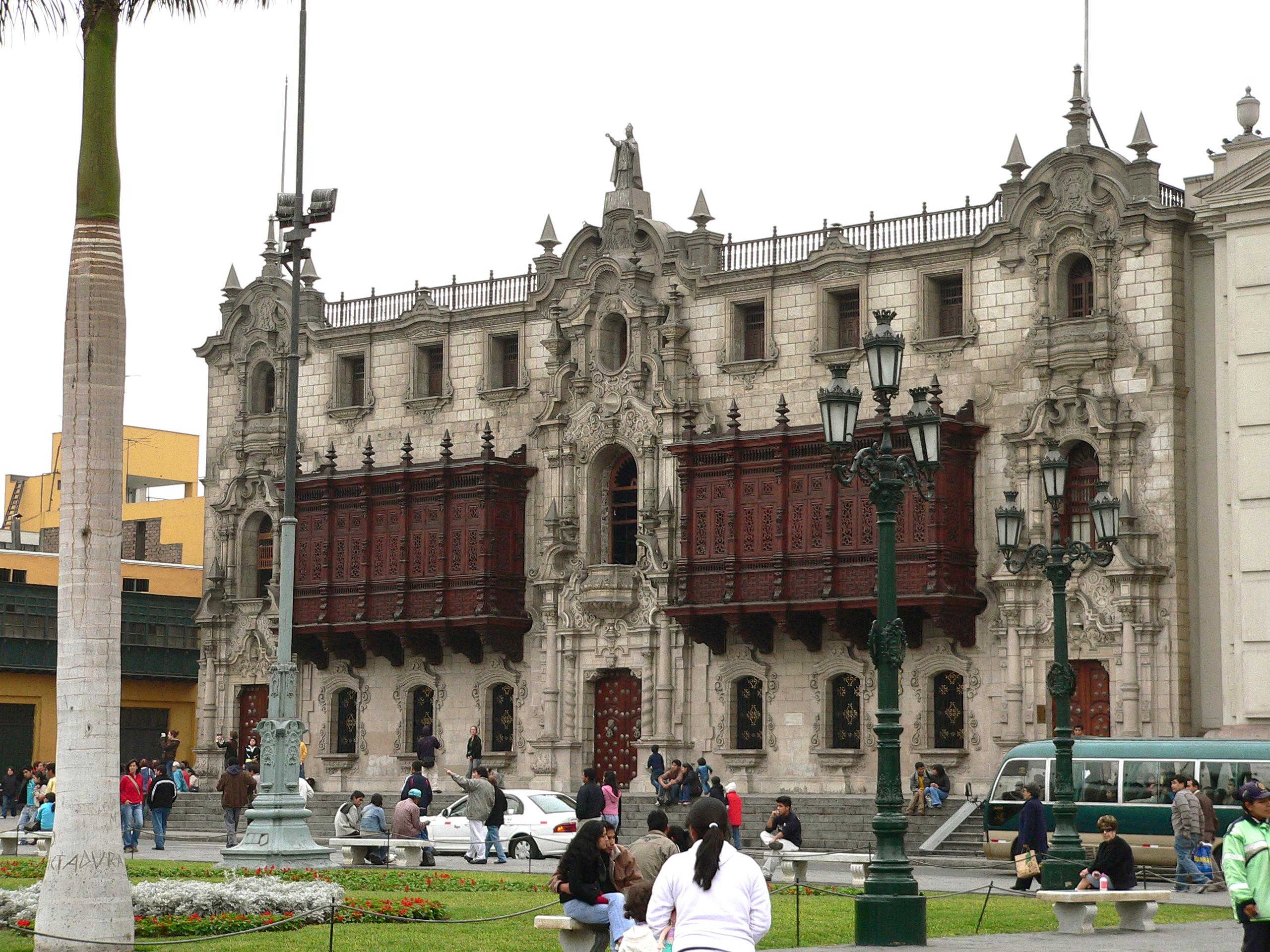 Palácio Arzobispal © Manuel González Olaechea y Franco