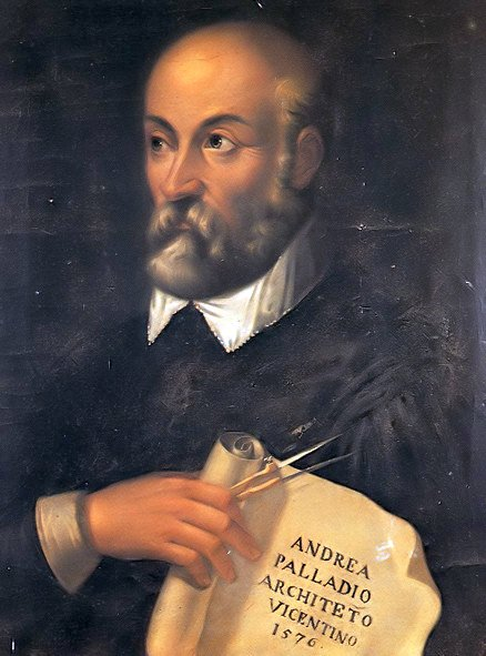 Portrait of Palladio from the 17th century