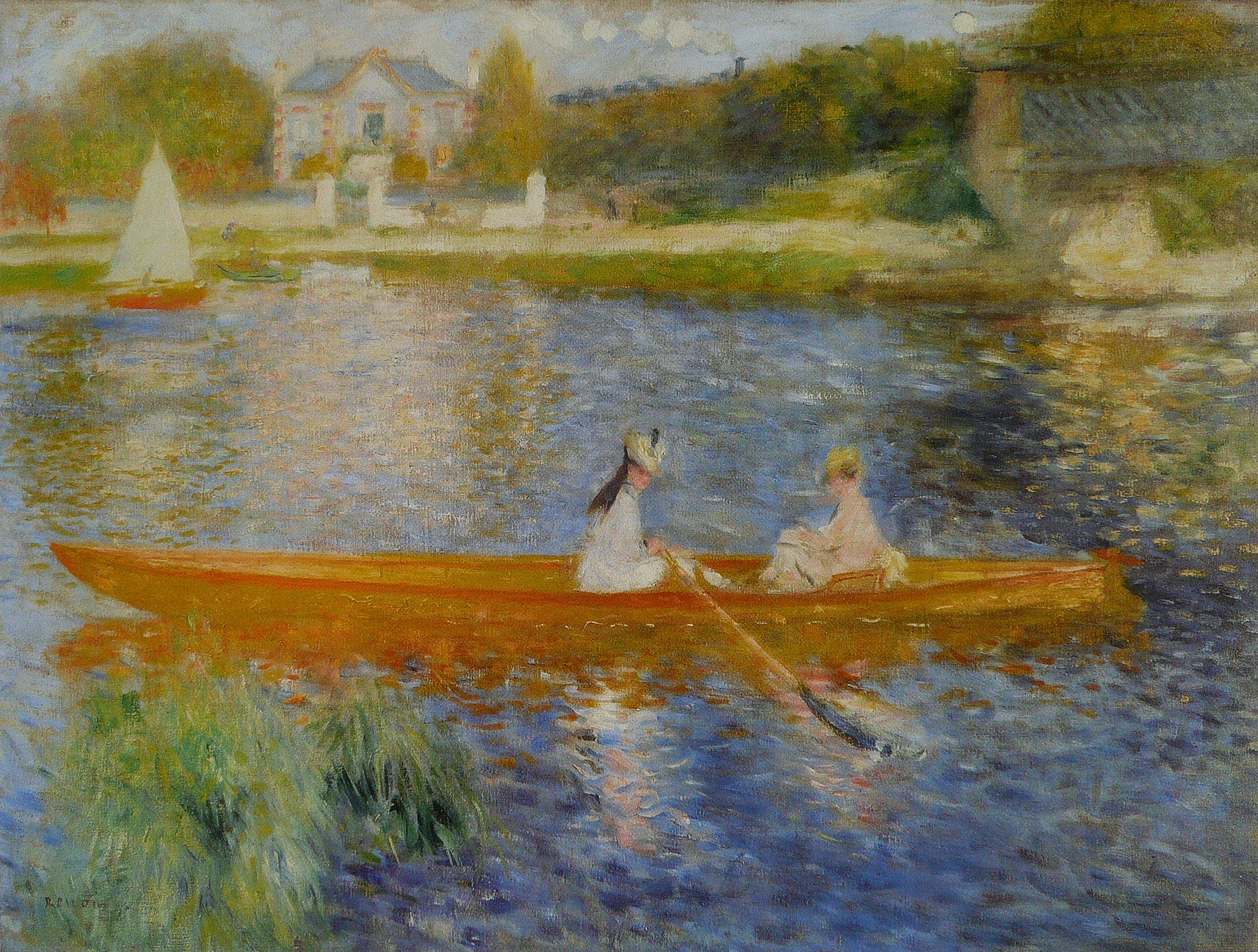 File:Pierre-Auguste Renoir - La Yole.jpg - Wikimedia Commons