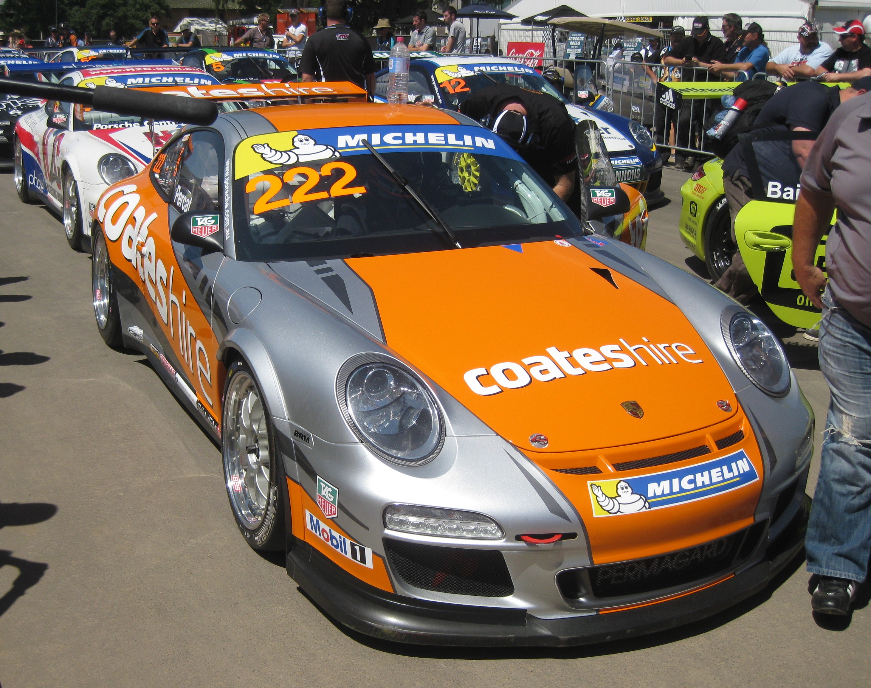 file porsche 911 gt3 cup type 997 of nick percat 2013 jpg wikimedia commons. Black Bedroom Furniture Sets. Home Design Ideas