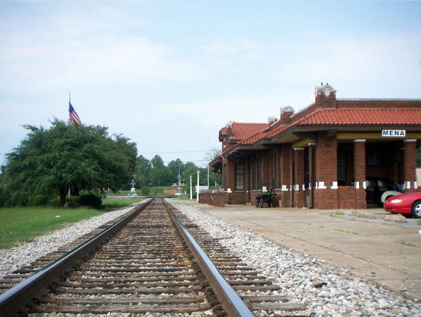 Mena Kansas City Southern Depot Wikipedia