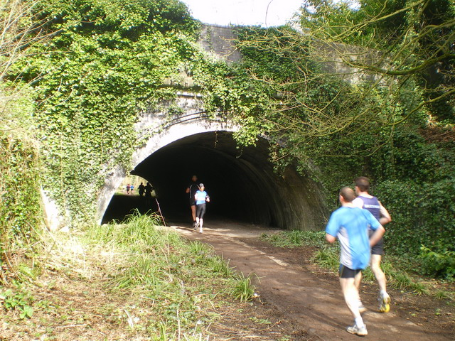 File:Running the Silkin Way at Blists Hill - geograph.org.uk - 1770753.jpg