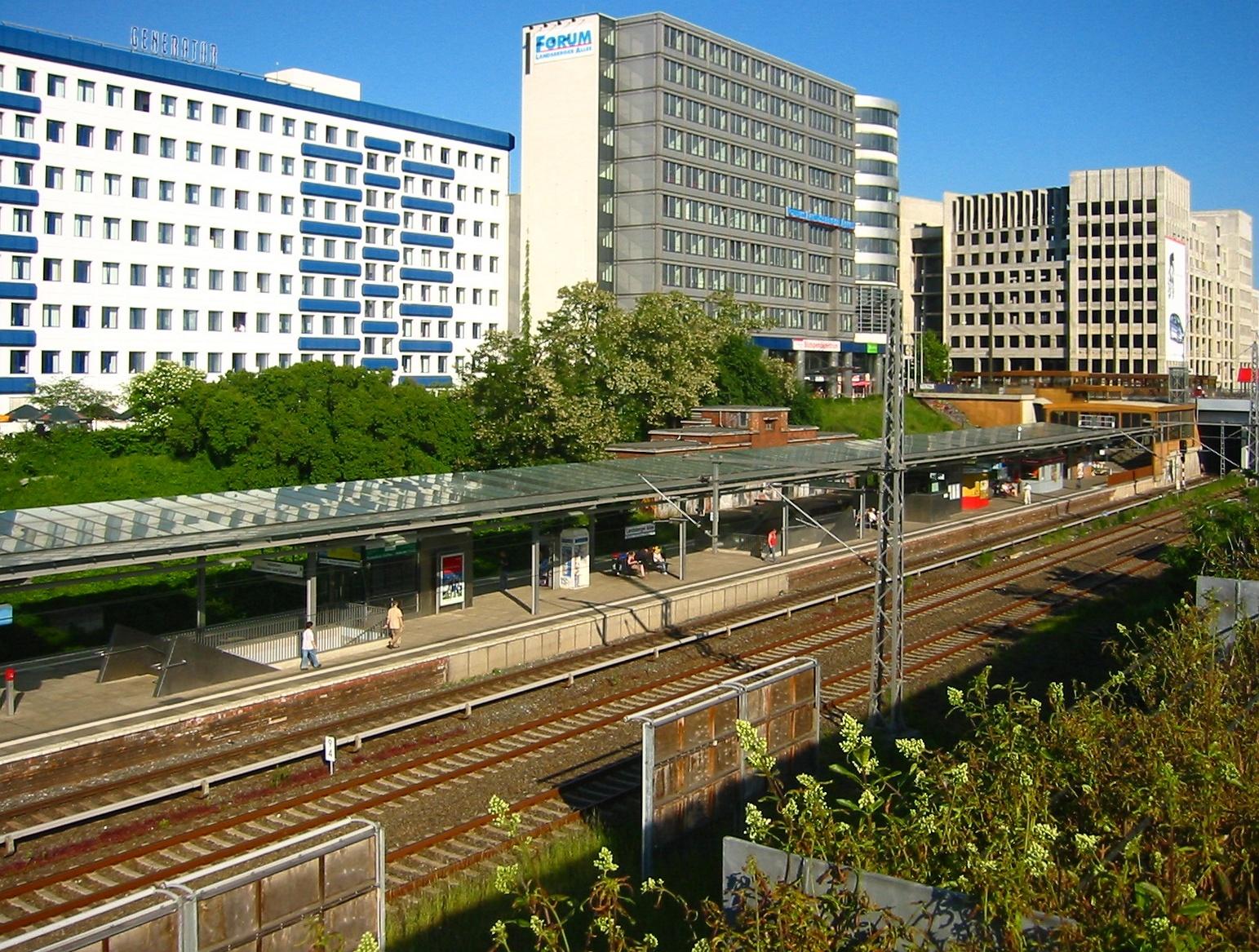 berlin landsberger allee station wikiwand