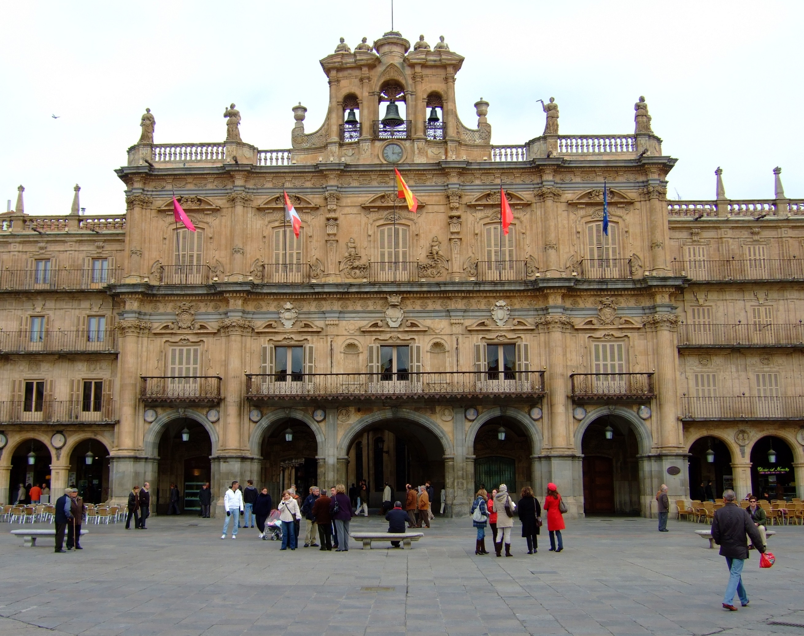 File:Salamanca España Arquitectura Plaza Mayor.jpg - Wikimedia Commons