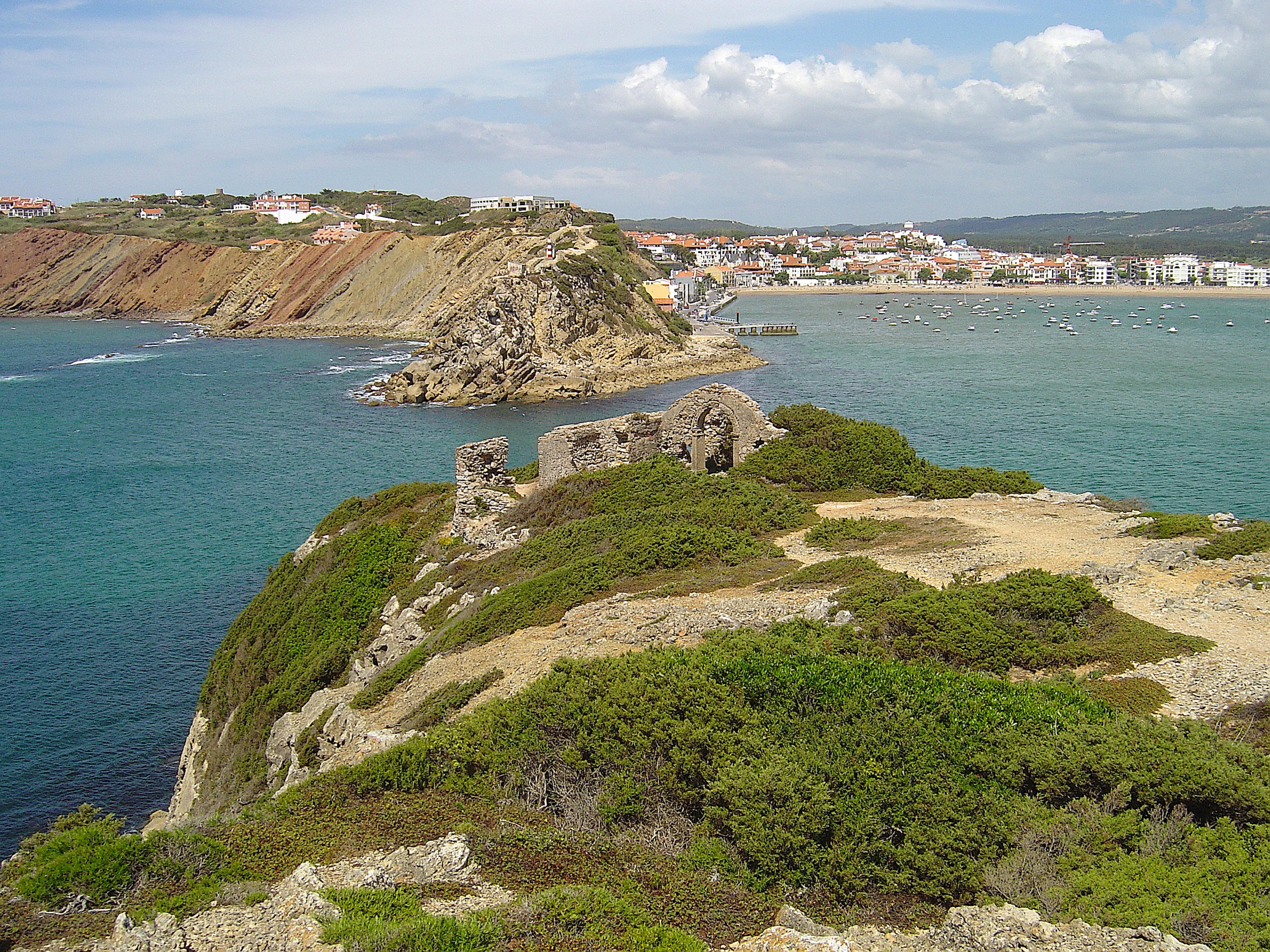 Até Coimbra pelo litoral oeste! Salir_e_S._Martinho_do_Porto_(Portugal)6