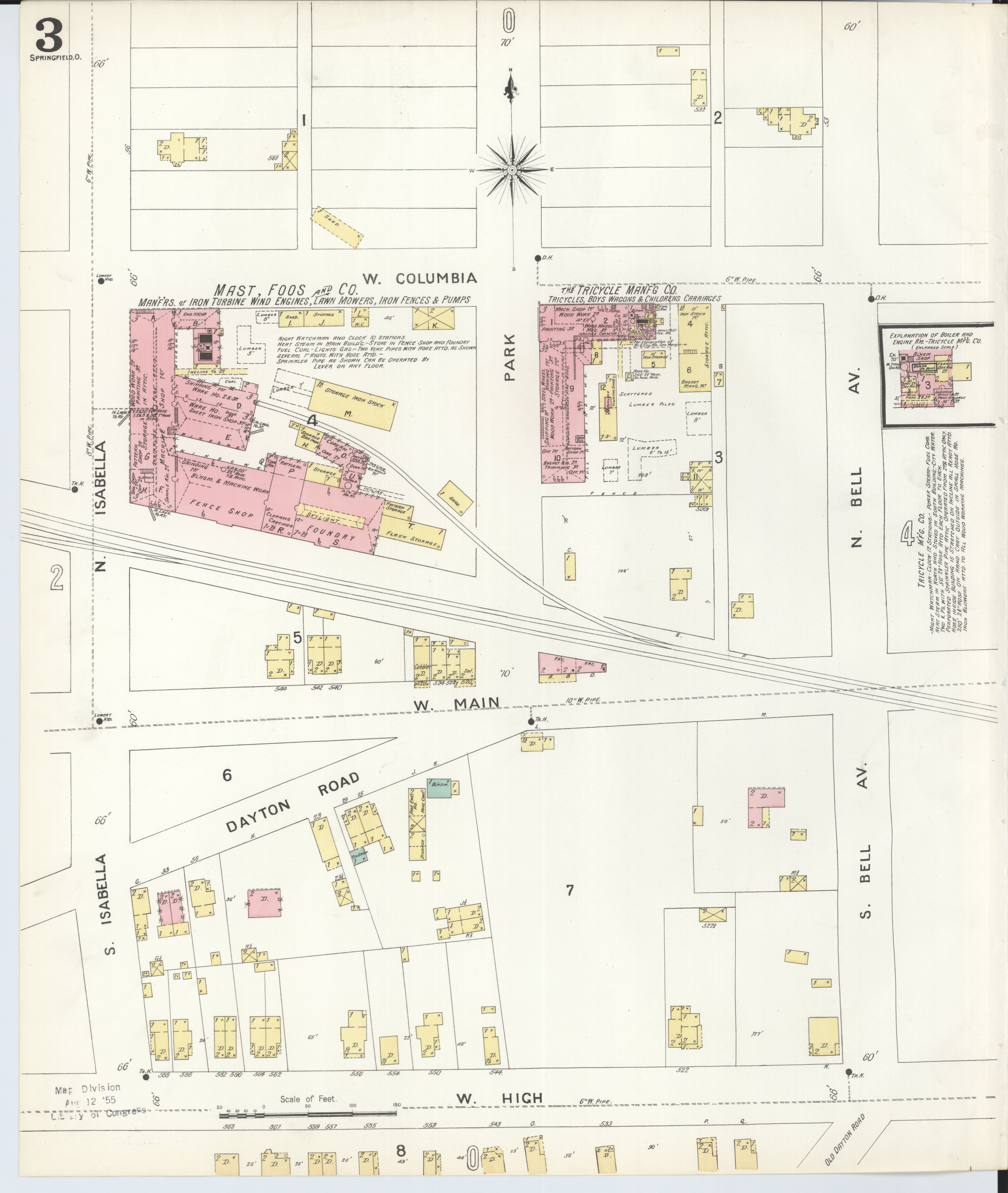 File:Sanborn Fire Insurance Map from Springfield, Clark County, Ohio
