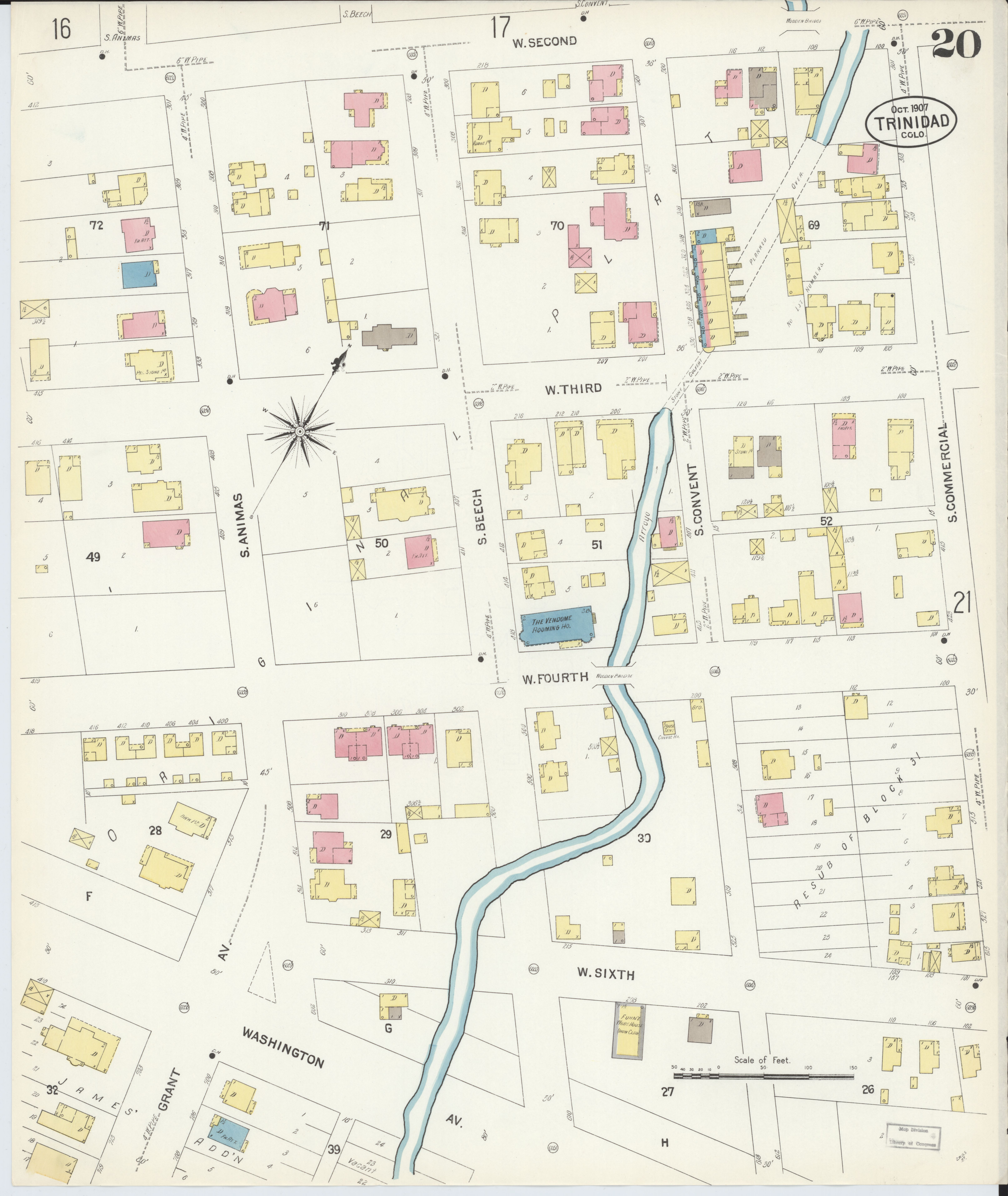 File Sanborn Fire Insurance Map From Trinidad Las Animas County