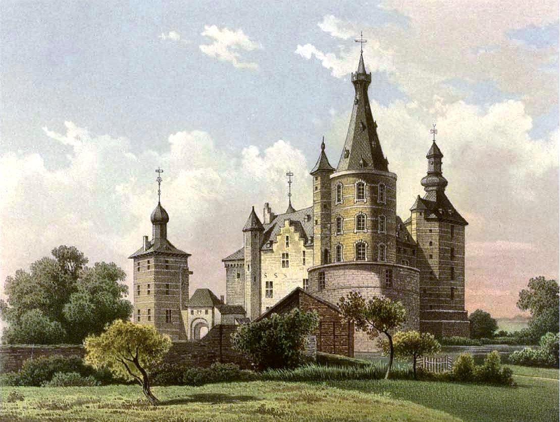 Weihnachtsmarkt Schloss Merode.Schloss Merode Wikipedia