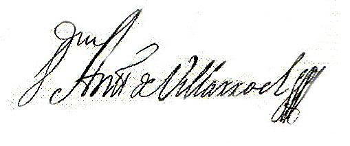 Firma general villarroel