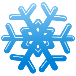 File Snow Flake Icon Png Wikimedia Commons