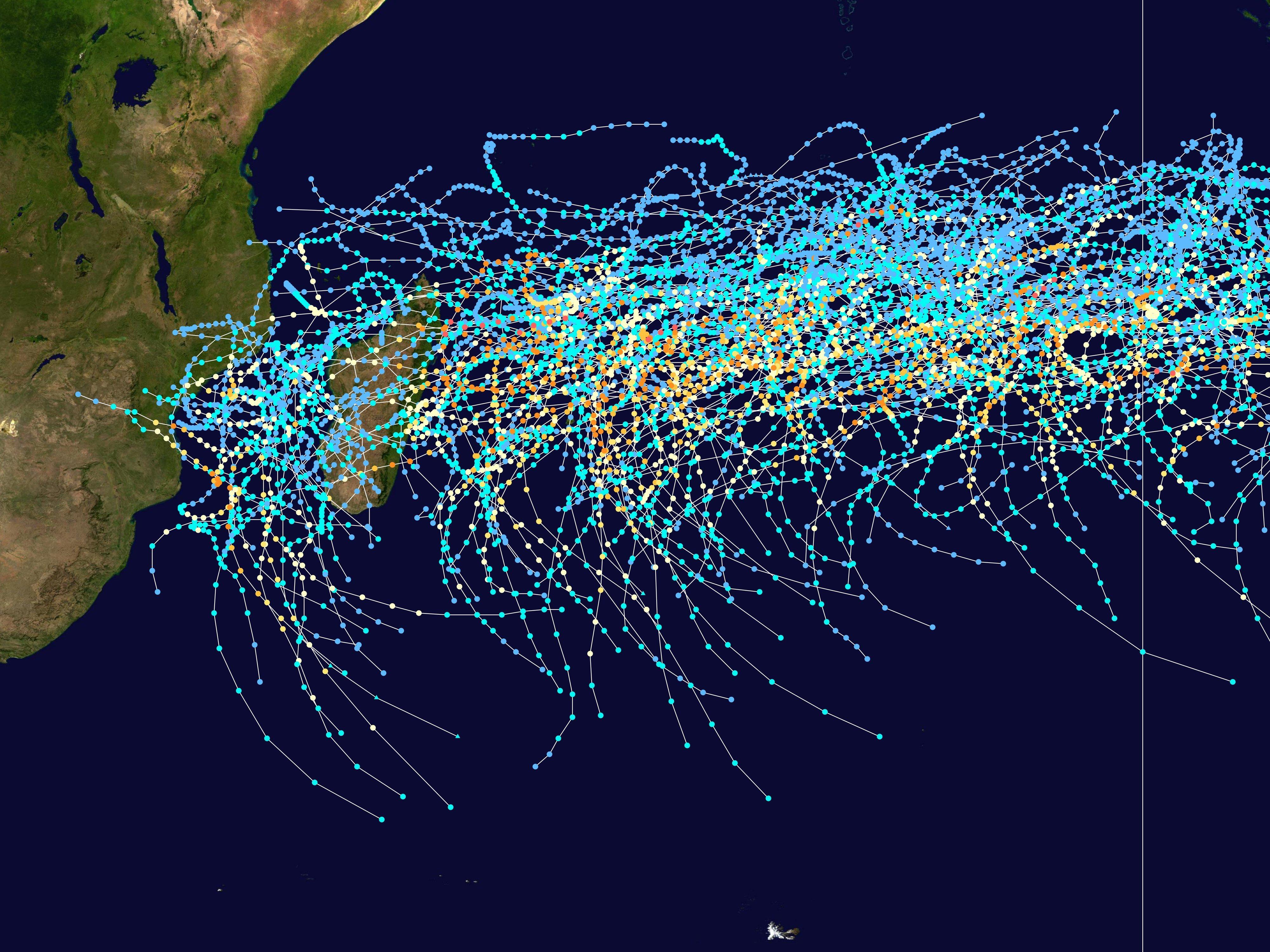 Ocean Indian Ocean Atlantique South-west Indian Ocean[edit