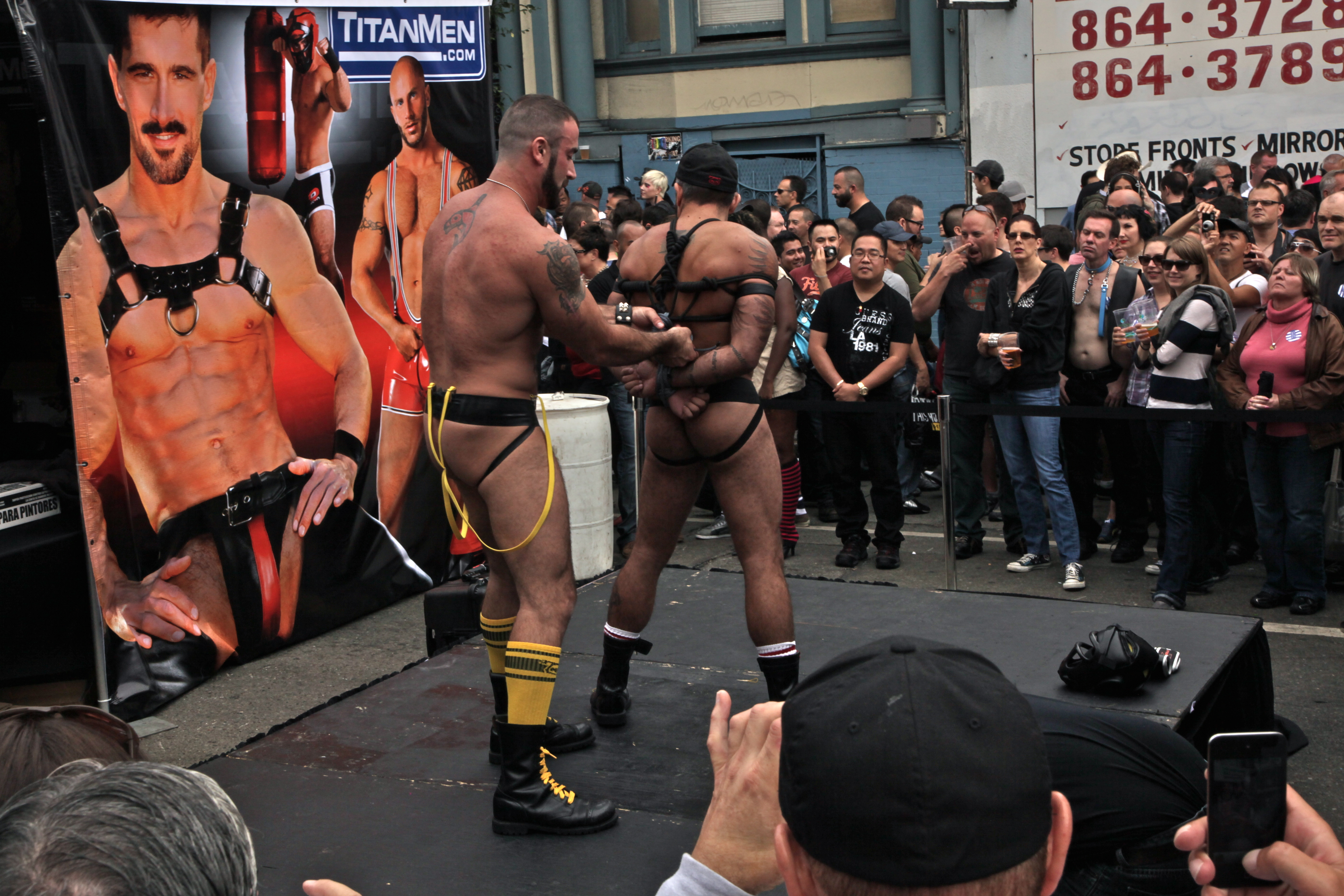 Thank porn tsars at folsom street fair