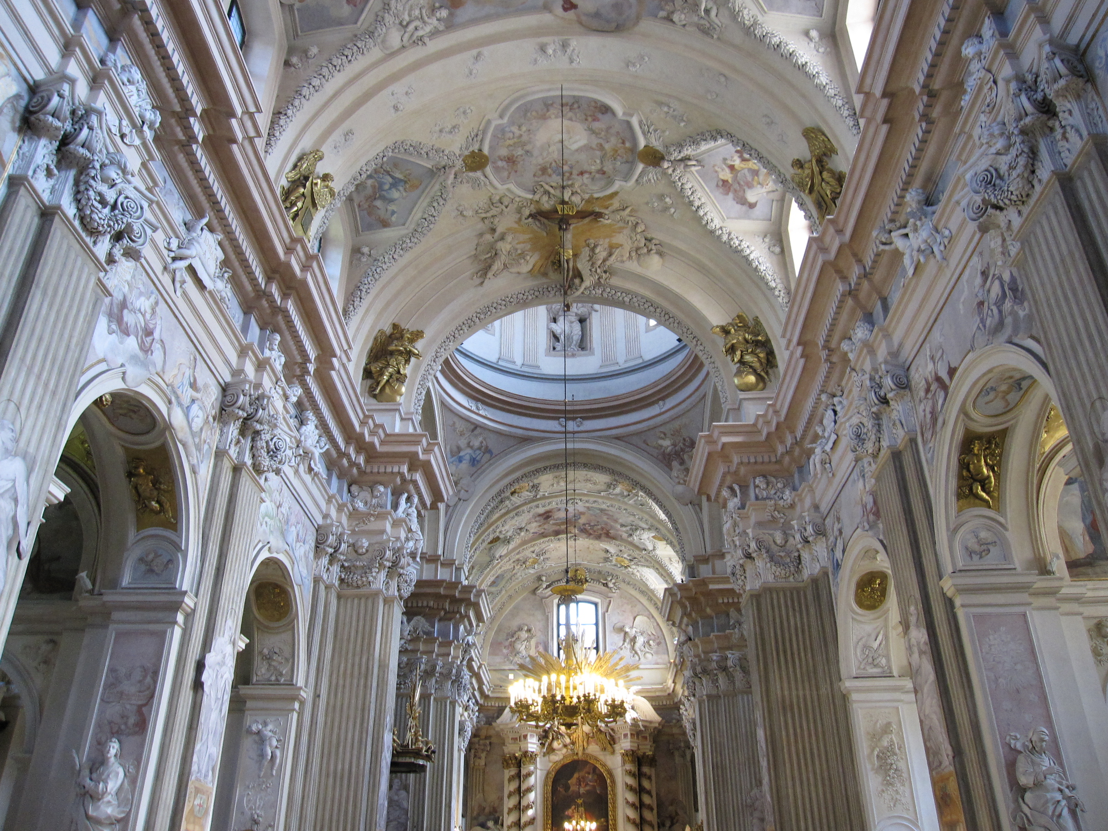 Baroque Architecture Interior Church Baroque Architecture