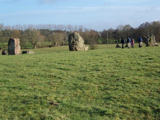 Stones at Stanton Drew - geograph.org.uk - 1670012