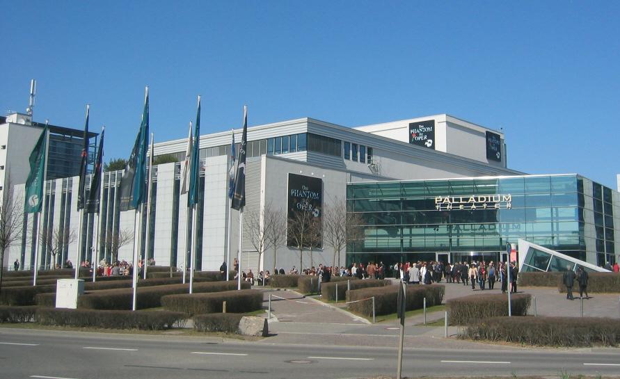 Apollo Theater Stuttgart Hotel Nahe