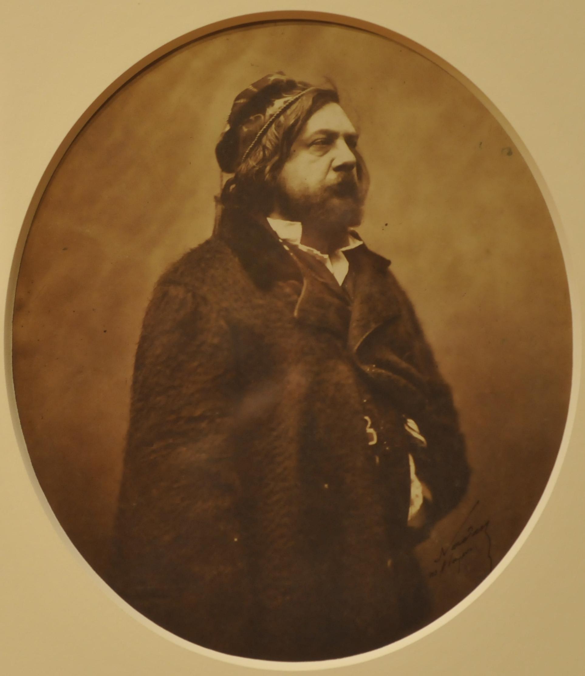 Théophile Gautier par Nadar (1855)