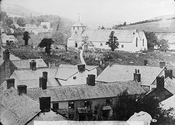 The old church, Llanfair Caereinion