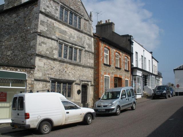 The original Grammar School, Colyton - geograph.org.uk - 1264107