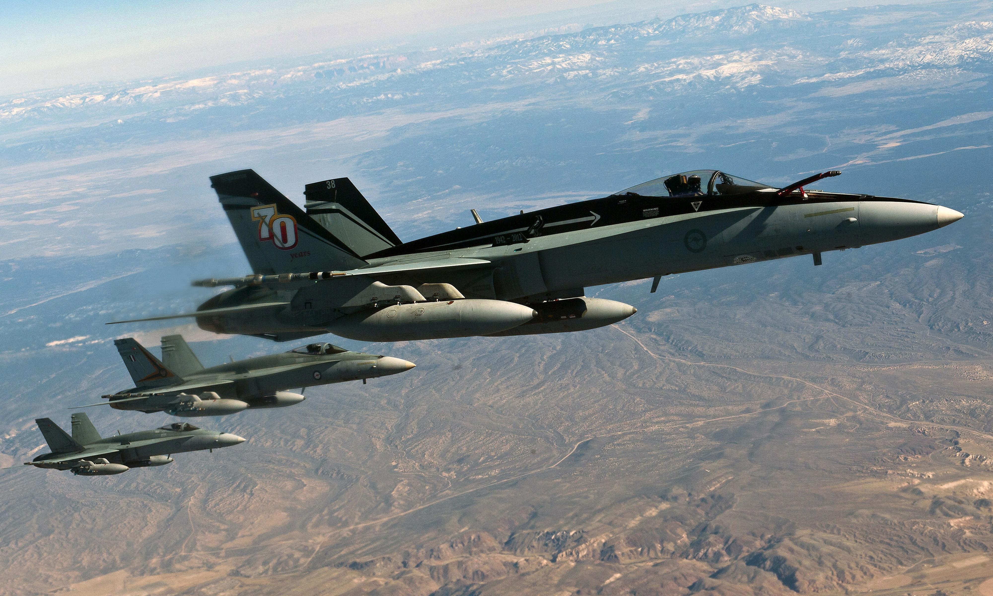 McDonnell Douglas F/A-18 Hornet in Australian service - Wikipedia