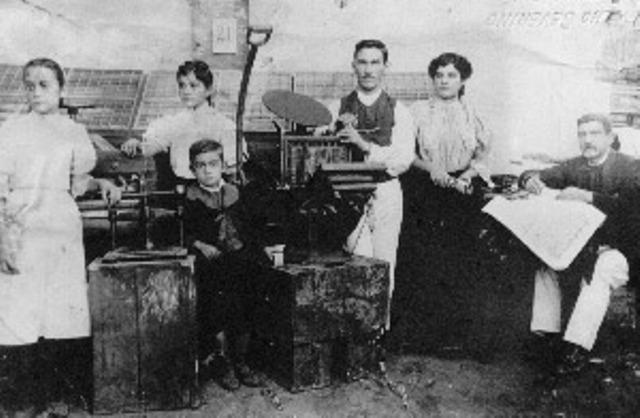 "Ficheiro:Tipografia ""O Progresso"" 1908, Uberlândia MG.jpg"