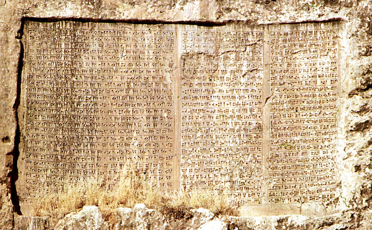 Dark Matter: The Lost Cycle of Time Trilingual_inscription_of_Xerxes,_Van,_1973