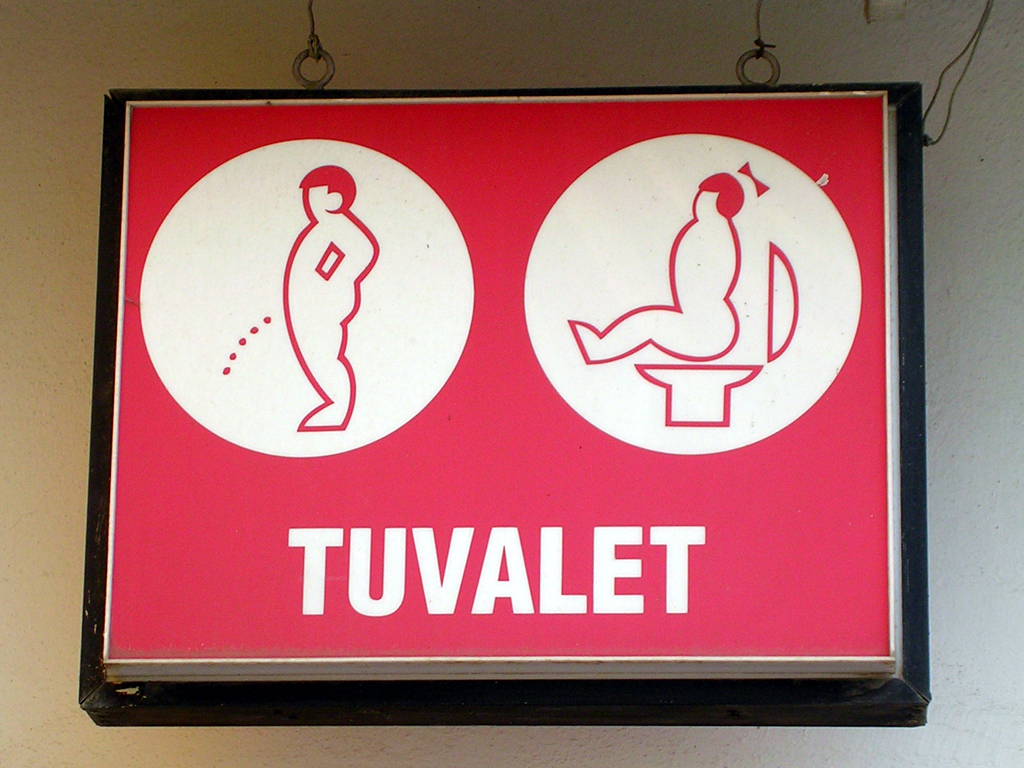 Bathroom Signs History file:turkish toilet sign - wikimedia commons