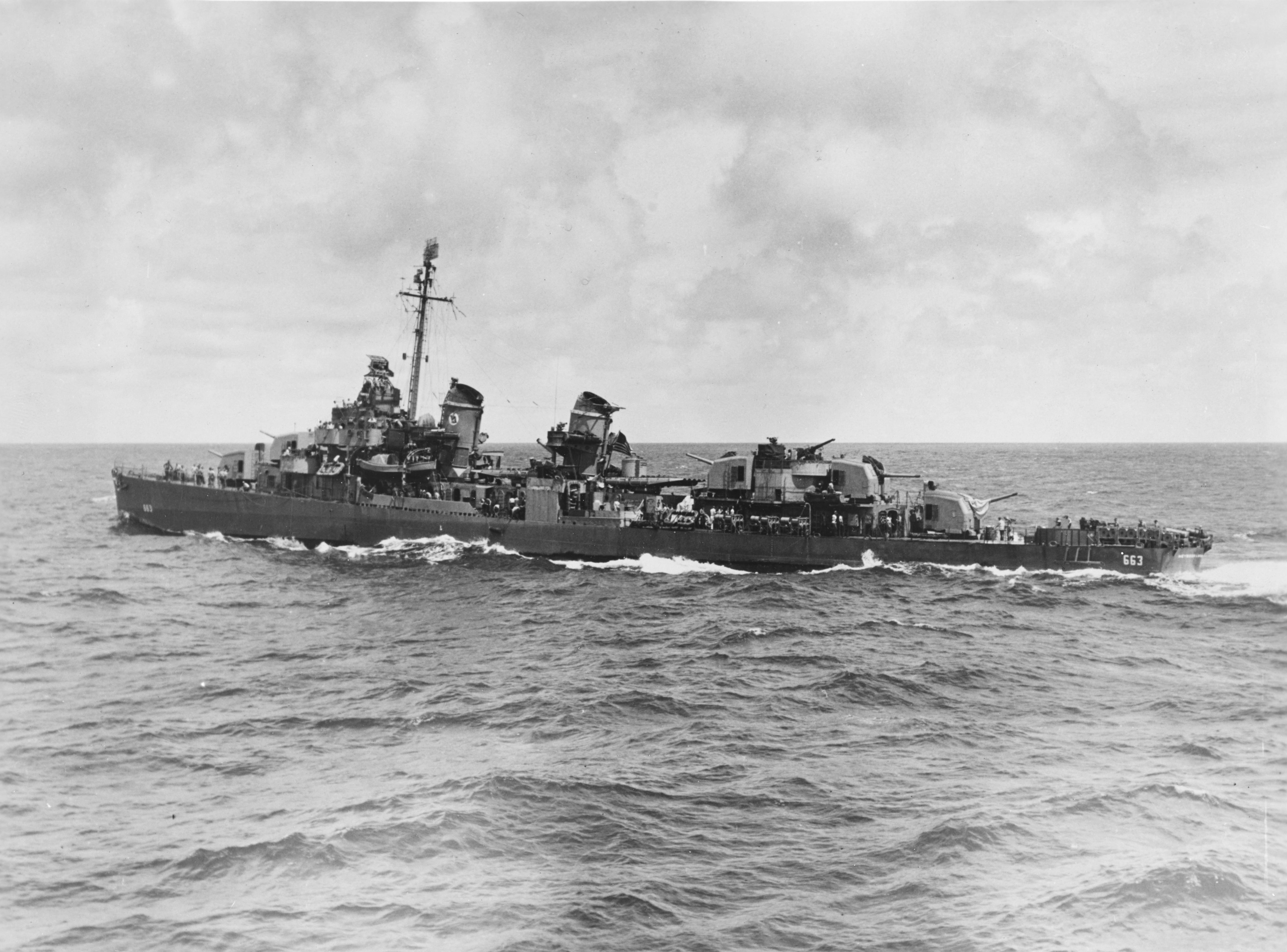 USS Heywood L. Edwards (DD-663)