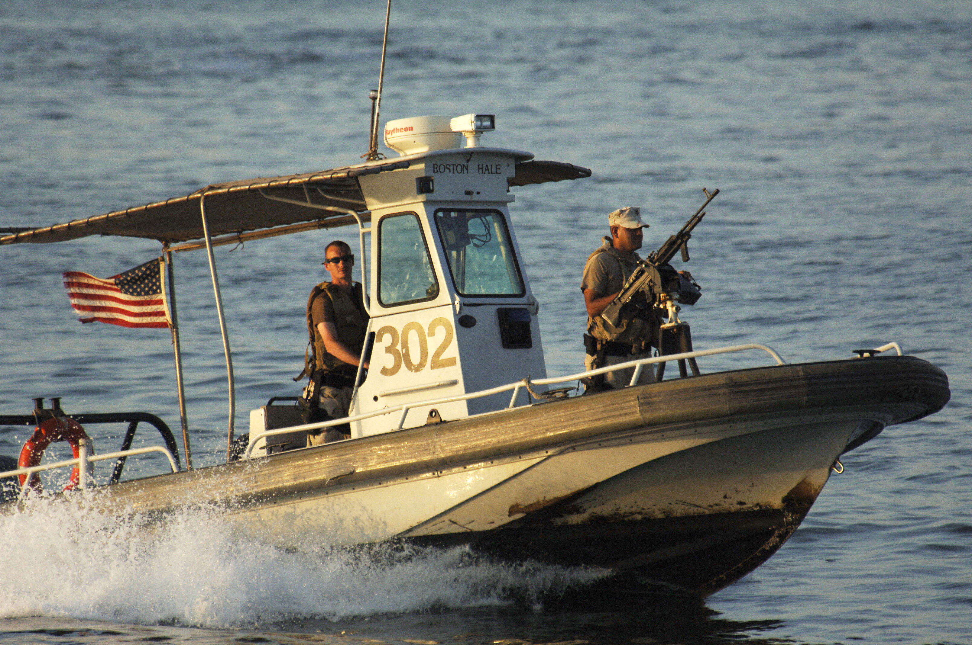 File:US Navy 061030-N-8148A-034 A harbor patrol boat unit from ...
