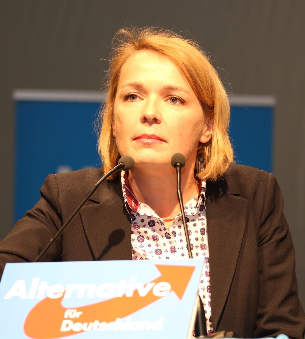 Ulrike Trebesius, AfD Parteitag 25.1.2014 in Aschaffenburg.jpg