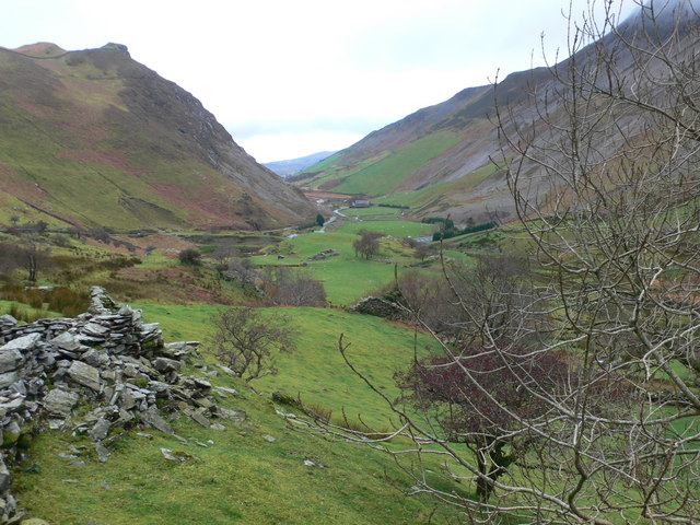 Upper end of the Nantlle Valley - geograph.org.uk - 1046747