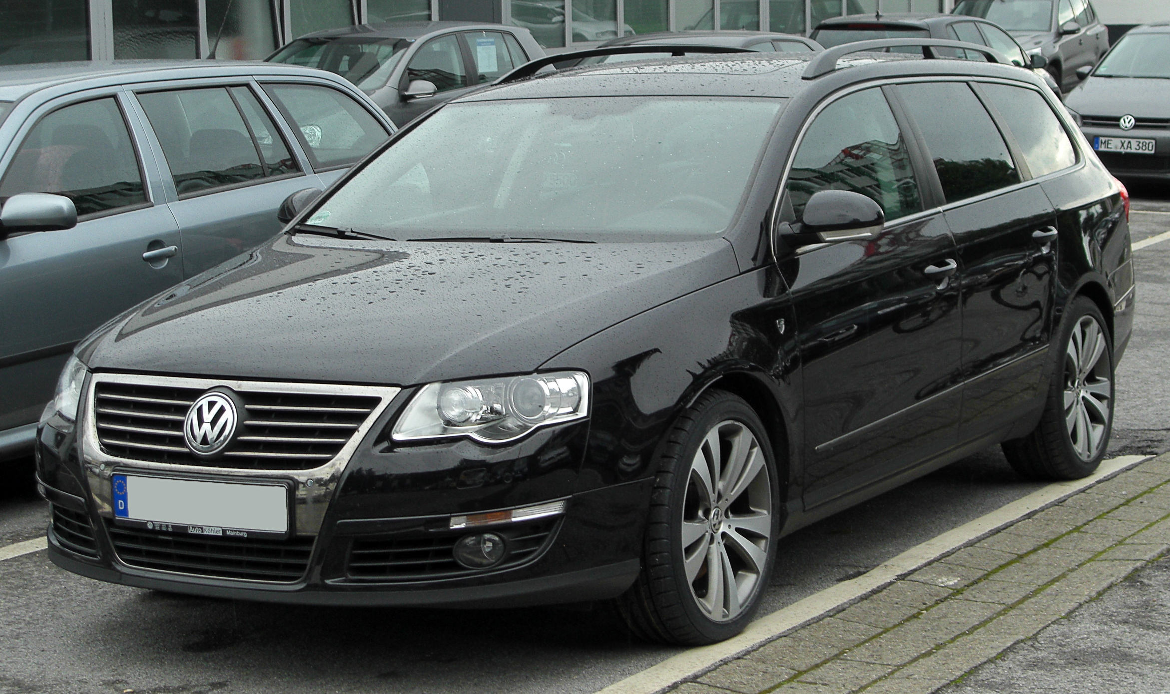 file vw passat b6 variant 2 0 tdi individual front. Black Bedroom Furniture Sets. Home Design Ideas