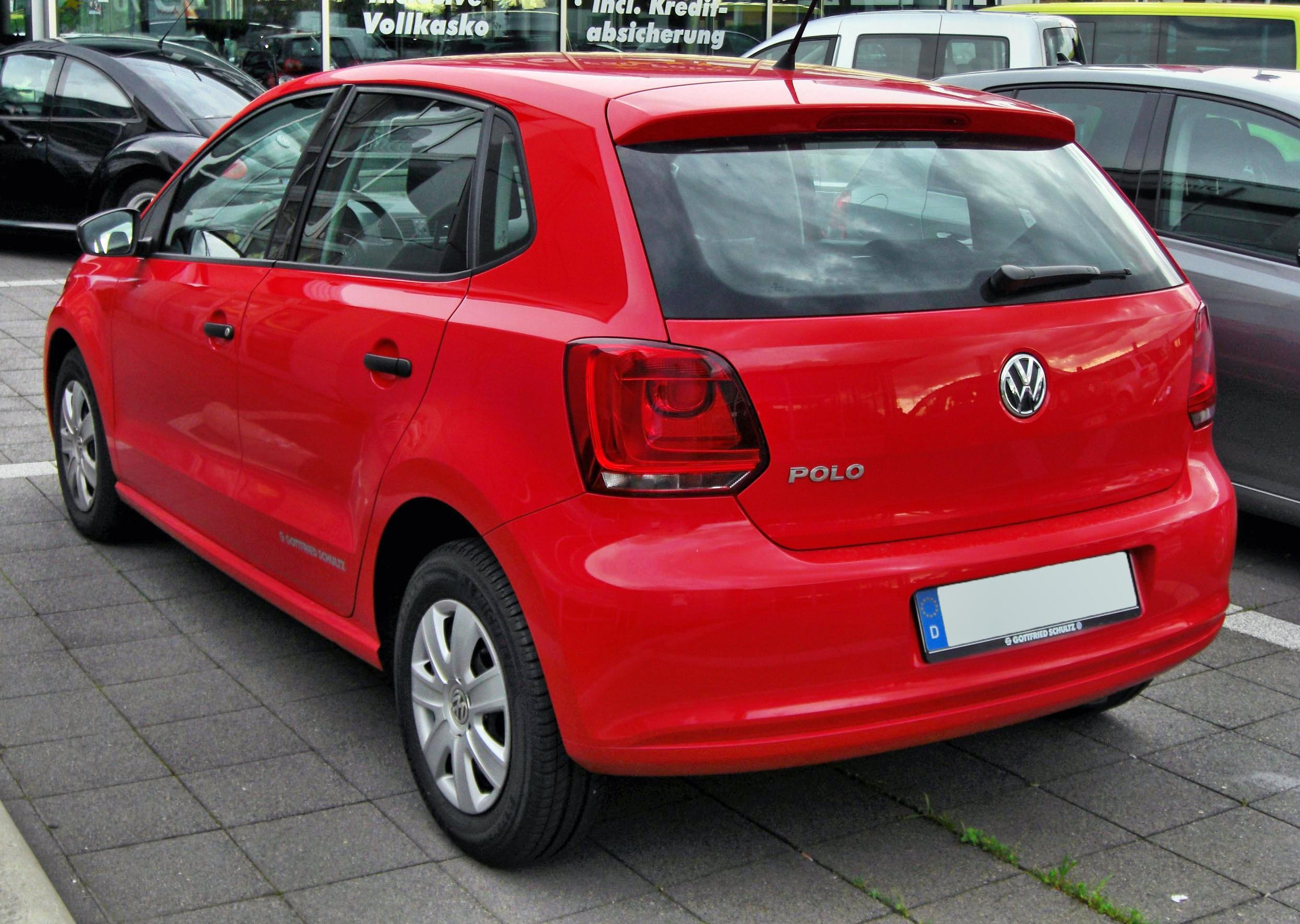 Description VW Polo V 20090717 rear.JPG