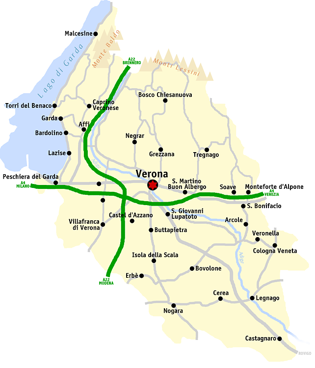 Cartina Verona.File Verona Mappa Png Wikipedia
