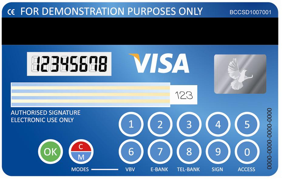 how to put a pin on an american express card